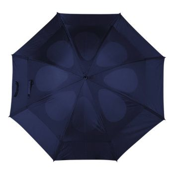 Personalised Storm Proof Vented Umbrella - Blue